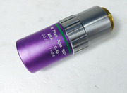 1pc Used Mitutoyo M Plan Apo Nuv 20x/0.40 F=200 Objective Ems Or Dhl P032 Yl