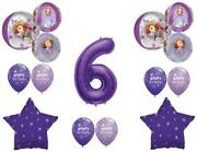 Awesome Sofia The First 6th Birthday Party Balloons Decoration Supplies Orbz
