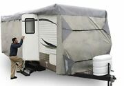 Expedition Premium Rv Travel Trailer Cover Fits 24-27 Ft. 24 25 26 27
