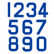Replacement Optimist Sail Numbers - Class Legal - Blue 7