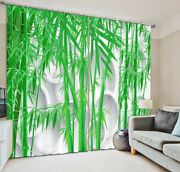Technology Of Bamboo 3d Curtain Blockout Photo Printing Curtains Drape Fabric