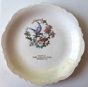 Circa 1910 Home Furniture Store Advertising Collector Plate Monessen, Pa