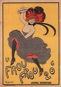 Le Frou Frou 20c Journal Humoristique - Print On Paper And Canvas Giclee Poster