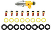 Fuel Injector Repair Service Kit Orings Spacer Filters For Yamaha Outboard Hpdi
