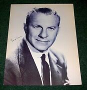 George Burns Hand Signed Autograph Auto Picture Poster Photograph Wall Art Rare