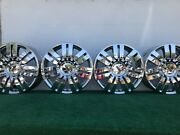Rare Lincoln Mkx Ford Edge Sport 20 Genuine Factory Oem Wheels Rims Set And Caps