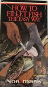 How To Fillet Fish The Easy Way Vhs-tested-rare Vintage Collectible-ship N 24 Hr