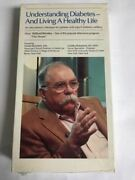 Understanding Diabetes And Living A Healthy Life Vhs Upjohn 1988 Rare Vintage