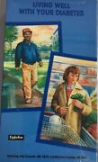 Living Well With Your Diabetes Vhs Upjohn 1990 Rare Vintage Collectible-ship N24
