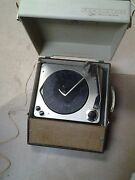 Vintage Rca Victor Solid State Portable Record Player Vgp11t