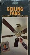 How-to Video Guide Ceiling Fans Assembly And Installation Vhs-rare-ship N 24hr