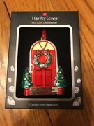 """Crystal Holiday Ornament """"first Christmas In New Home 2017"""" Ships N24h"""