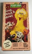 Sesame Street Sing Hoot And Howl With The Sesame Street Animals Vhs 1991rare
