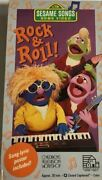 Sesame Street Songs-rock And Roll [vhs] [vhs Tape] [1990]tested-rare-ships N 24 Hr