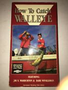 How To Catch Walleye Vhs Jay S Warburton And Babe Winkelman-tested-rare-ship N 24