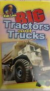 Kids Love Big Tractors And Trucks Vhs By Sterling-tested-rare Vintage-ship N 24h