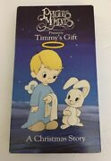 Precious Moments Vhs Timmy's Gifta Christmas Story-tested-very Rare Vintage