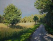 Original Oil Painting Direct From Artist Landscape. Around The Bend
