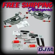 2002 - 2005 Dodge Ram 1500 Complete Front And Rear 2/4 Lowering Kit By Djm