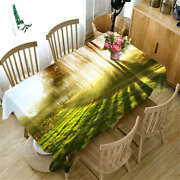 Ray Of Sunshine 3d Tablecloth Table Cover Cloth Rectangle Wedding Party Banquet