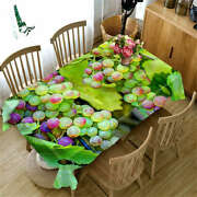 Crystal Grapes 3d Tablecloth Table Cover Cloth Rectangle Wedding Party Banquet