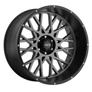 Vision Rocker 24x12 8x180 Offset -51 Anthracite With Satin Black Lip Qty Of 4