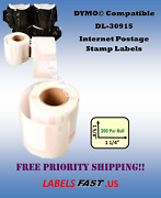 Stamp Labels White 30915 Dymo Compatible Labelwriter® 450 Twin Turbo Bc+ El60