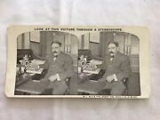 Mr R W Sears President Sears Roebuck And Co At His Desk Stereoview Card
