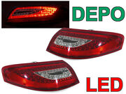 Depo 997 Oem Look Led Tail Rear Light Pair For 1998-2004 Porsche 911 996 Carrera