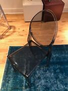 Kartell Victoria Ghost Chair - Transparent Smoke Grey - Excellent Condition