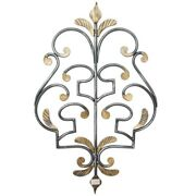 Coat Hangers Clothes Hook Wrought Iron A Death A 3 Places Black Gold Wall