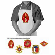 Cooking / Grilling Apron U.s. Marine Corps Forces Command Marforcom