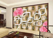 Pink Spots Opening 3d Full Wall Mural Photo Wallpaper Printing Home Kids Decor