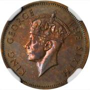 1952 British Honduras 5 Cents Ngc Pf 65 Rare In Proof Finest Certified Example