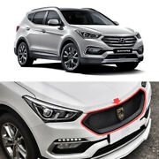 Front Hood Grille Painted For 2017 2018 Hyundai Santa Fe The Prime