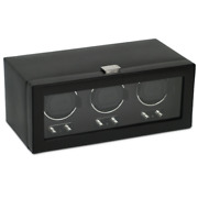Wolf 2.1 Heritage Triple Watch Winder With Cover 270202 Free Us Shipping