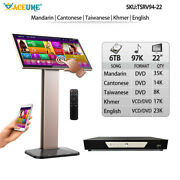 6tb Hdd 97k Chinese,english,khmer Songs,touch Screen Karaoke Player,cloud Update