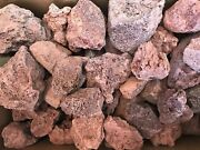 Small Red Lava Rock For Landscaping And Aquariums