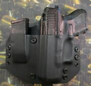Hunt Ready Holsters Glock 26 / 27 / 33 Lh Owb Holster With Extra Mag Carrier