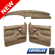 Light Brown Interior Accs. Kit 12-115c92f-lbr For Bronco Front Lf Rt - Coverlay
