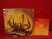 The Scorpions Lonesome Crow + No One Like You Very Rare Sealed Picture Discand 7in