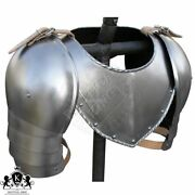 Collectibles 15th Century Gorget And Pauldron Medieval Knight Reenactment Replic