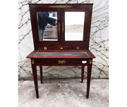Empire Writing Desk In Mahogany