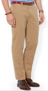 Polo Big And Tall Stretch Twill Suffield Pants, Size 42t-36, 125