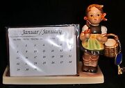 M. I. Hummel...perpetual Calender...picture Holder...mark7....sister....new