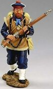 King And Country European Collectors Club Cc032 Ww1 French Marine Advancing Mib