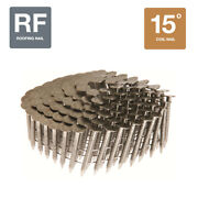 Collated Nails 15 Degree Coil 304 Stainless Steel Roofing Nails - 7200ct Box