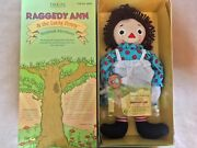 New Limited Edition Signed Raggedy Ann And The Lucky Penny Doll 2000