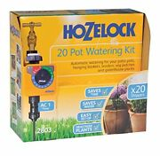 Hozelock 2803 0000 20 Pot Automatic Watering Kit With Ac Plus Timer