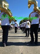 Sousaphone Big 25bell Jumbo Of Pure Brass In Golden +case +free Ship Offer 1 Pc